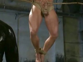 Strong guys fucked in total gay bdsm