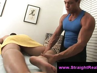 Straight Guy Gets Tricky Gay Massage
