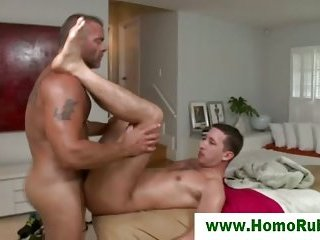 Straight dude fucked for the first time