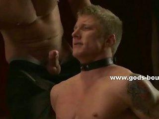 Athletic tatooed tied gay boys bdsm