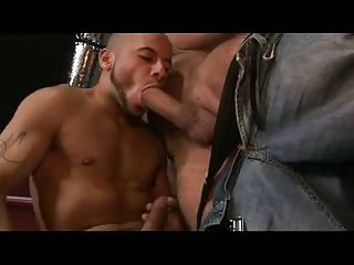 Tattooed Studs Making Out In Orgy