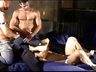 CBT muscle ball stomping orgy