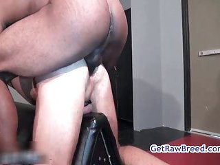 Kamrun, buster sly and zac zaven in threesome