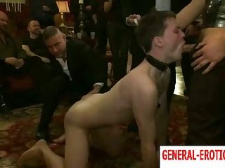 Bondage Party For Submissive Guy
