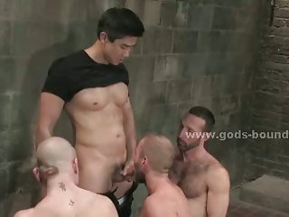 Three gay victims wait for punishment