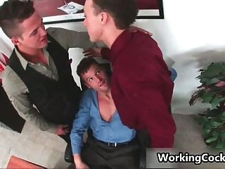 Kirk Cummings teasing in office
