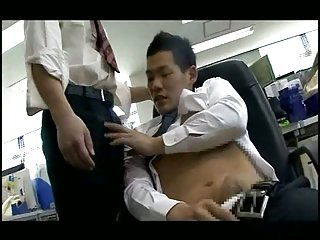 Public sex in the office