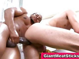 Gay big cock interracial hard anal