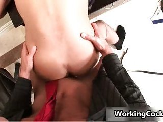 Seth Roberts fucking and sucking in office