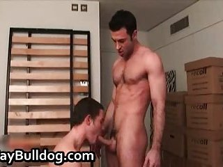 Ashley Ryder and Dan Vega in hardcore gay porn