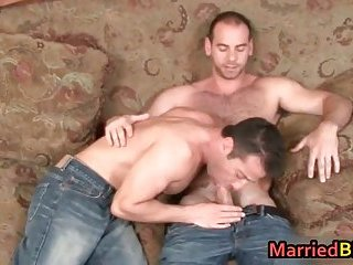 Married guy having hardcore gay sex without the wife