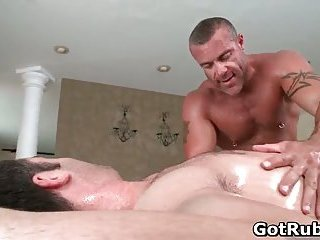 Tyler gets his nice balls gay massaged and rubbed