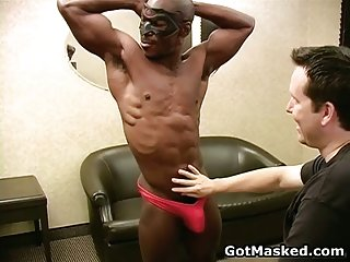 Incredible gay hunk in lots of horny sex acts