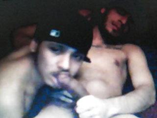 2 hot latin guys sucking cock on cam