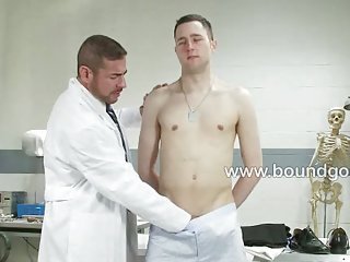 Jeof gets brutal face fucked by nick