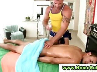 Gay masseus for naked straight boy