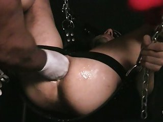Boy Gets Hole Stretched for the first time!