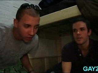 Lustful gay pals drink & fuck