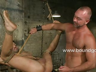 Dominic Pacifico endures the cane and full suspension