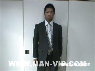 Asian Hunk Hot Wanking