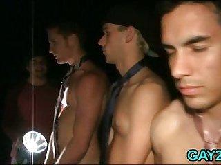 Gay slut gets the whole ride