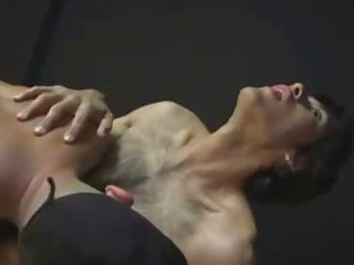 Hairy indian gets cum in mouth and ass