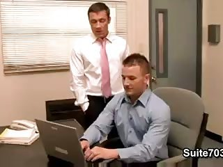 Office guys sucking fucking