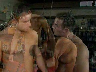 Hot gay guys jizzy banging