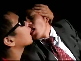 Asian Guy Gets Fucked In Gangbang