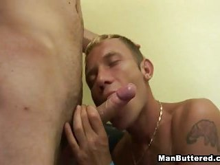 Horny Gay Men Big Sperm Facial