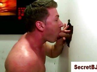 Gay straight amateur gloryhole blowjob cumshot