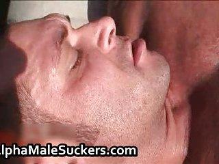 Alpha males in super gay masturbation
