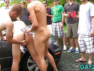 Gay male slut turned into slave