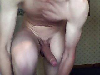 Smoking Hot Teen Shower His Huge Cock
