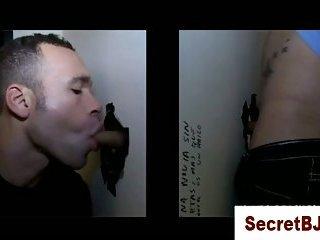 Secret gay blowjob