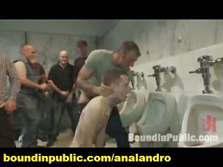 A Tied Gay Whore Public Gangbanged And Bdsm Humiliated