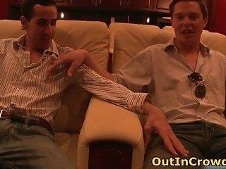Hot Gay Public Cock Sucking 2