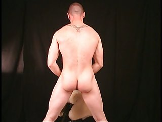 Str8 hung muscular ex Marine talks pussy