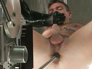 Extreme gay BDSM porn video