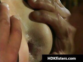 Deep gay ass fisting hardcore porn videos 1