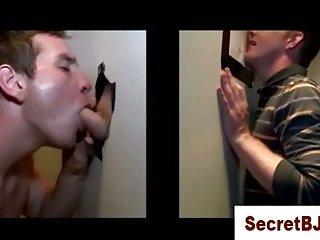 Straight guy mislead gay bj