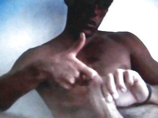Huge cock hot dude cumming on cam