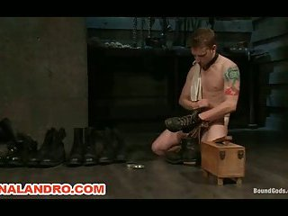 Gay BDSM Group Bondage and Humiliation