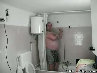 Fat Man Fucks Simone