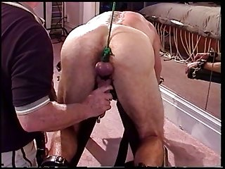 CBT Sawhorse ball pounding with Jim Roberts