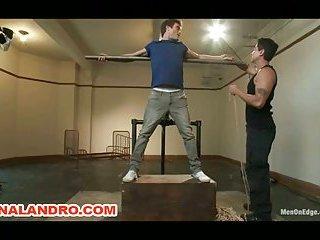 Straight Stud Lance Hart  Endures Bondage