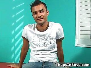 Super horny gay interracial oral sex