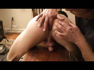 Bdsm handjob for nude guy