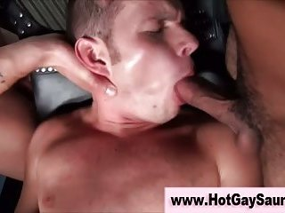 Straighty tries sex swing in gay sauna