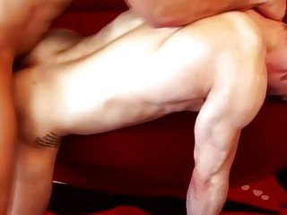 Horny pornstar fucking this tight ass with his thick cock